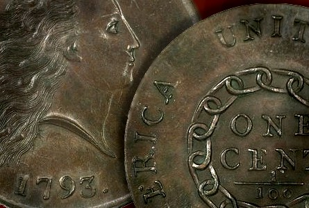 Coin Rarities & Related Topics: 1793 Cent sets $1.38 Million Auction Record for a Copper coin