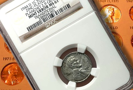 1944-D Steel Cent: Rare, Off-Metal Cent Sold at Recent FUN has Interesting Story