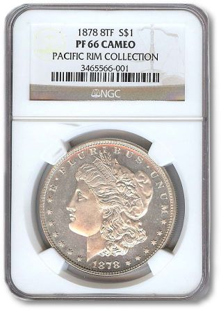 ParkAveSlab Park Avenue Numismatics  Acquires the Pacific Rim Collection of Proof Morgan Dollars