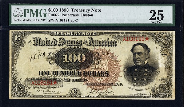 fr377 obv $100 Watermelon Note Being Offered in Long Beach