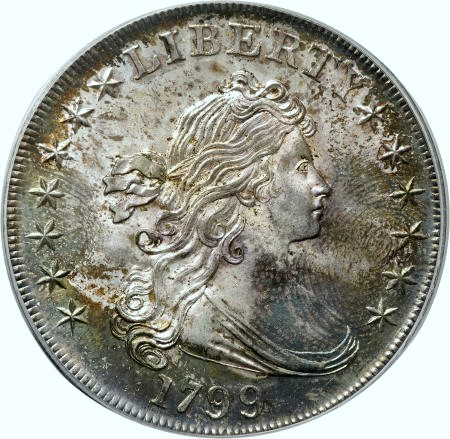 1799 thumbprint dollar Morelan Coin Rarities & Related Topics: Early Silver Dollars & Grading Issues