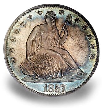 1857 50c Interview with Dr. Michael Bugeja Part II: Coins Are Art You Can Hold and Experience History in the Process