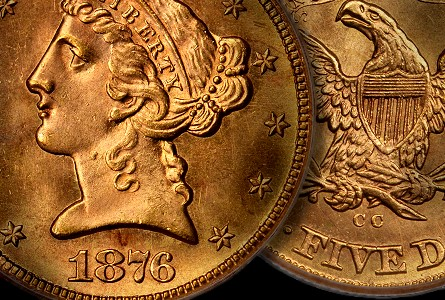 Coin Rarities & Related Topics: Finest Known Carson City, Nevada Gold Coin