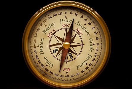 Coin value compass Where Do Coin Price Guides Get Their Prices?