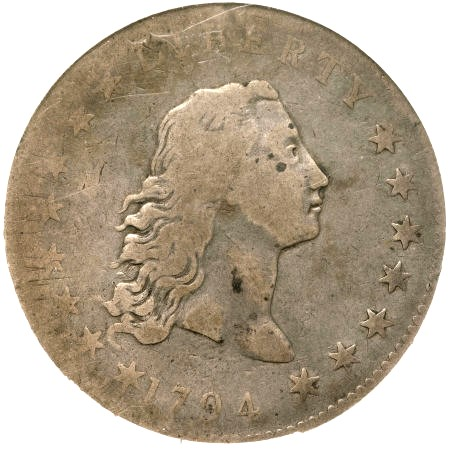 GR 1794 1 a Coin Rarities & Related Topics: Early Silver Dollars & Grading Issues