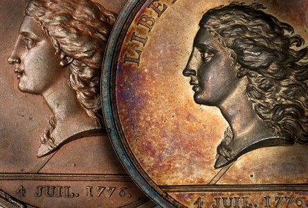 Libertas americana Capping Liberty: The Invention of a Numismatic Iconography for the New American Republic