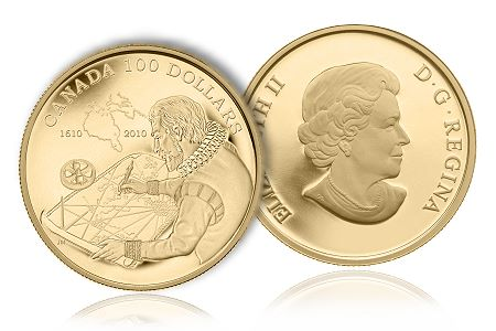 RCMCOTY Royal Canadian Mint Earns Most Historically Significant Coin Title at 2012 Coin of the Year Awards
