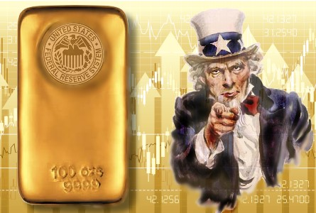 Uncle sam gold Someone Apparently Trying To Conceal US Government Manipulation Of Gold Market