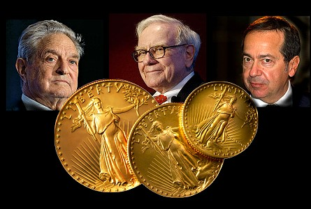 The Coin Analyst: Soros, Paulson, and Buffet: How Three Billionaires View Gold