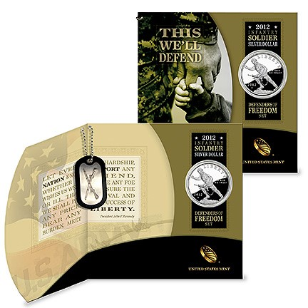 dog tag The Coin Analyst: The Modern Commemorative Coin Program and the Launch of Infantry Soldier Dollars
