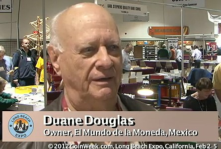 Market for Mexican Coins at the Long Beach Expo