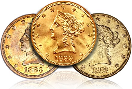 dw 10 libs Assembling A Year Set of Liberty Head Eagles, Part Two: 1867 1907