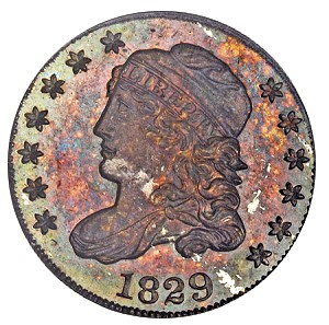 half dime 1829 Coin Rarities & Related Topics: Half Dimes, including an 1802