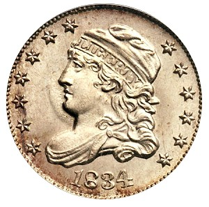 half dime 1834 Coin Rarities & Related Topics: Half Dimes, including an 1802