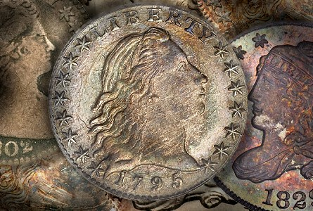 Coin Rarities & Related Topics: Half Dimes, including an 1802