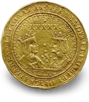huntington Fifty Excelentes Huntington Collection of Hispanic Related Coins Offered by Sothebys as a Single Lot March 8th