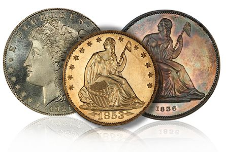 morelan type thumb The Numismatic Versus: Comparing Coin Collecting Methods