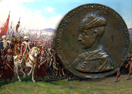 sultan mehmed II Magnus Princeps Bronze Portrait Medal of Sultan Mehmed II to be offered by Baldwins