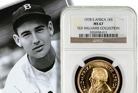 NGC Grades Ted Williams Collection