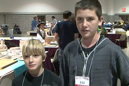 Young Numismatists at the Long Beach Coin Expo