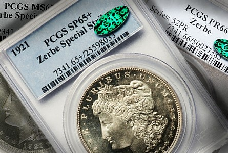 "Origins of the 1921 ""Zerbe Proof"" Morgan Silver Dollars are Uncertain"