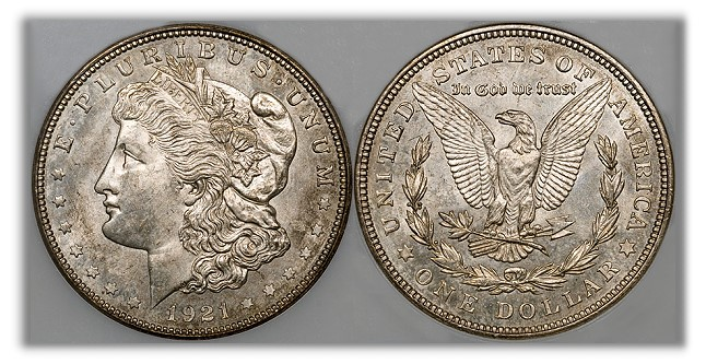 zerbe large Origins of the 1921 Zerbe Proof Morgan Silver Dollars are Uncertain