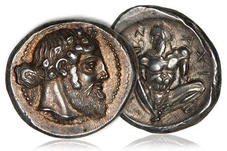 460BC MortonEden Morton & Eden Announce Sale of Four Iconic Greek Coins Dating From the 5th Century BC