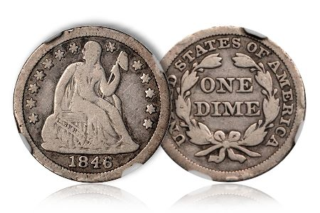Dime2Greg Coin Rarities & Related Topics: The Unrecognized Importance of 1846 Dimes