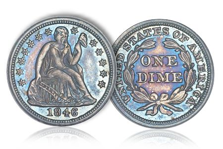Dime3Greg Coin Rarities & Related Topics: The Unrecognized Importance of 1846 Dimes