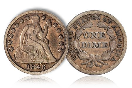 Dime5Greg Coin Rarities & Related Topics: The Unrecognized Importance of 1846 Dimes