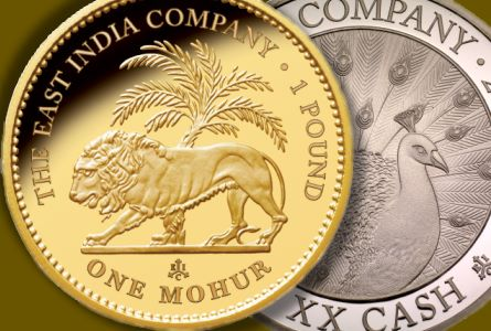 The East India Company Issues its First Legal Tender Coins Since 1874