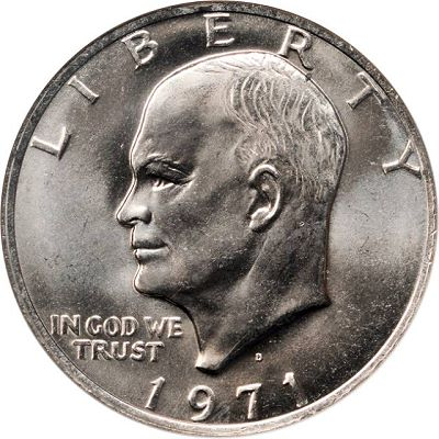 ike dollar MS When dealing with Eisenhower Dollars, grade is everything.