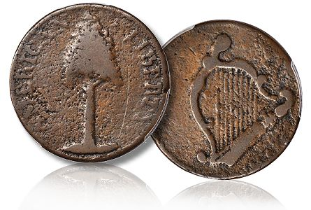 Important 1776 New Hampshire Copper Rarity to be offered by Stacks Bowers in Baltimore