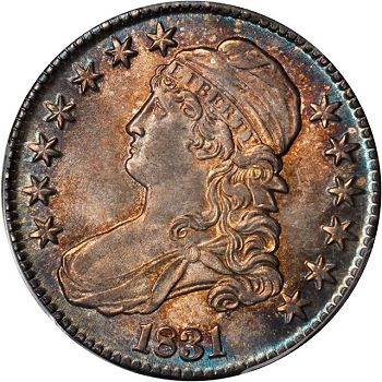 sb 50c 1831 Coin Rarities & Related Topics: Rarities Night, Part 2, Half Dollars