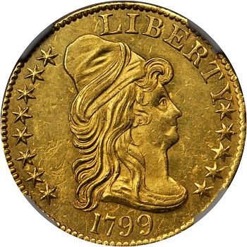 sb march2012 1799 eagle Coin Rarities & Related Topics: The Rarities Night in Baltimore, Part 1