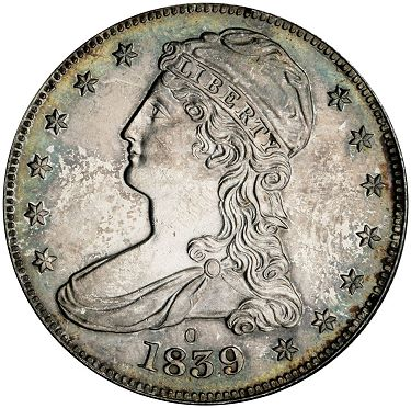 sb march2012 1839 o 50c Coin Rarities & Related Topics: The Rarities Night in Baltimore, Part 1
