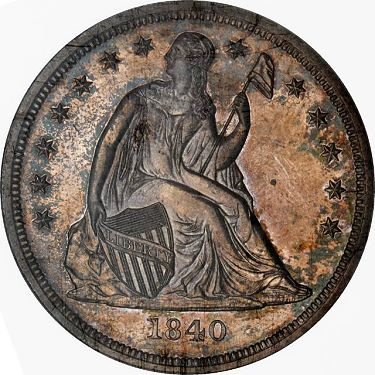 sb march2012 1840 Coin Rarities & Related Topics: The Rarities Night in Baltimore, Part 1