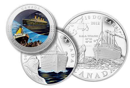 Royal Canadian Mint Remembers RMS Titanic With Commemorative Coins