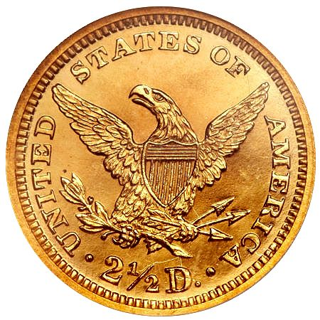 1863 250 rev 1863 Quarter Eagle   A Classic Proof Only Numismatic Rarity offered at Central States