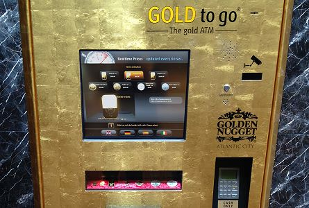 Stack's Bowers Galleries Unveils Gold-Dispensing ATM Machine
