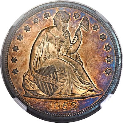gr 0412 1852 1 Coin Rarities & Related Topics: Pleasing Coins on Platinum Night