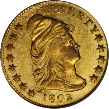 gr 250 3 Coin Rarities & Related Topics: Early U.S. $2 Gold Coins