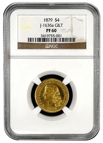 j1636a NGC Certifies Unique Stella $4 Gold Variety