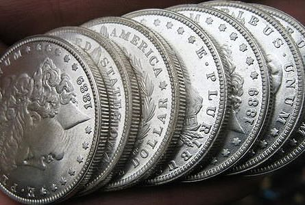 morgan dollars raw ANA Seeks Donations of Morgan Silver Dollars
