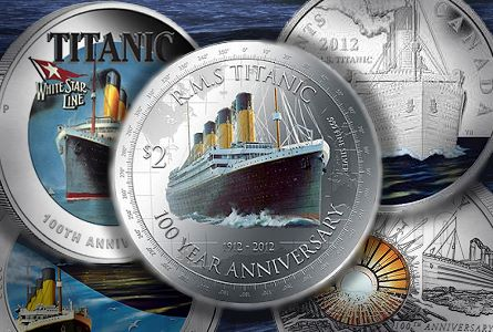 The Coin Analyst: Titanic Centennial Coins Popular with Collectors