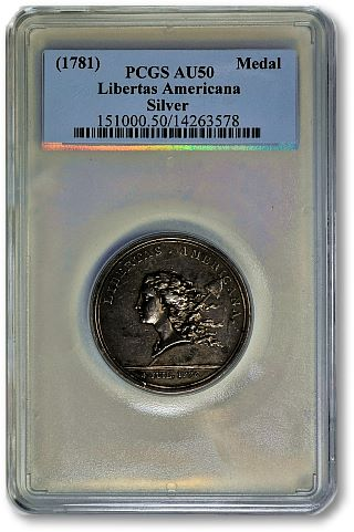 1781 LibertasAmericana GreatCollections to offer important highlights in June coin auctions