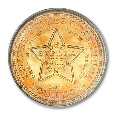 1879 Stellas High grade 1879 $4 'Stellas' lead rarities offered at Heritage Auctions Long Beach