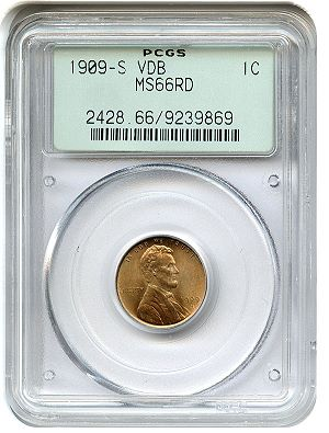 1909 svdb pcgs66 dlrc The Oak Lawn Collection Auction at DLRC Today