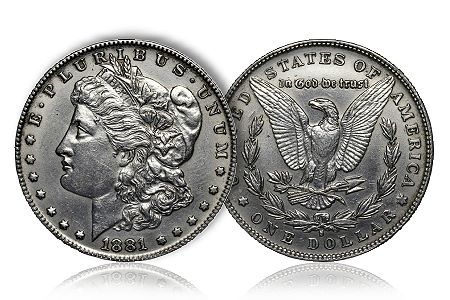 Counterfeit Morgan Counterfeit Protection: 1881 S Morgan Dollar