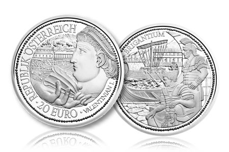 "Rome on the Danube ""Brigantium"" Final Coin In ""Rome on the Danube"" silver Series"